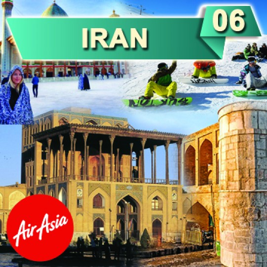 06 DAYS 04 NIGHTS IRAN SKI RESORTS