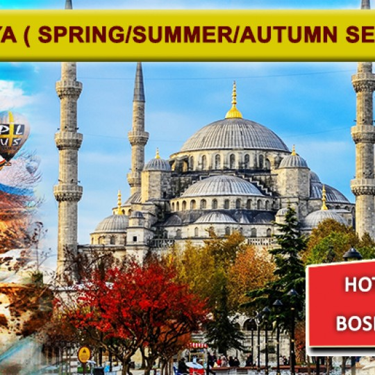 10 DAYS 07 NIGHTS DISCOVERY TURKEY + CANAKKALE (SPRING/SUMMER/AUTUMN)