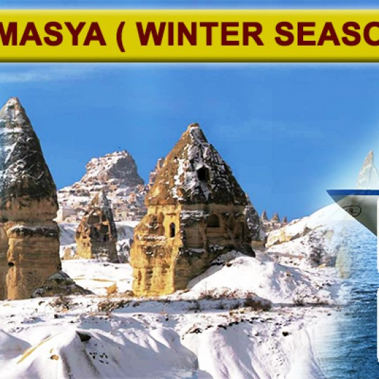 10 DAYS 07 NIGHTS DISCOVERY TURKEY + AMASYA ( WINTER SEASON ) 2018