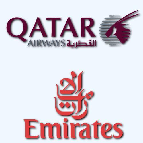 QATAR AIRWARS / EMIRATES AILINES